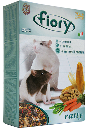 FIORY Superpremium Ratty Корм для крыс