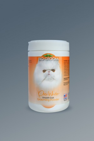 Bio-Groom Pro White Smooth пудра для груминга собак и кошек с мягкой шерстью